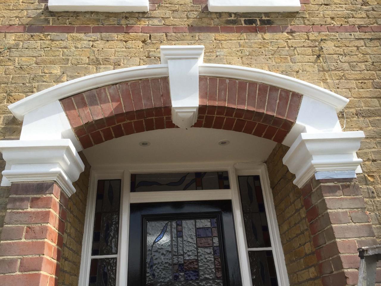 Entrance & Stonework Renovation