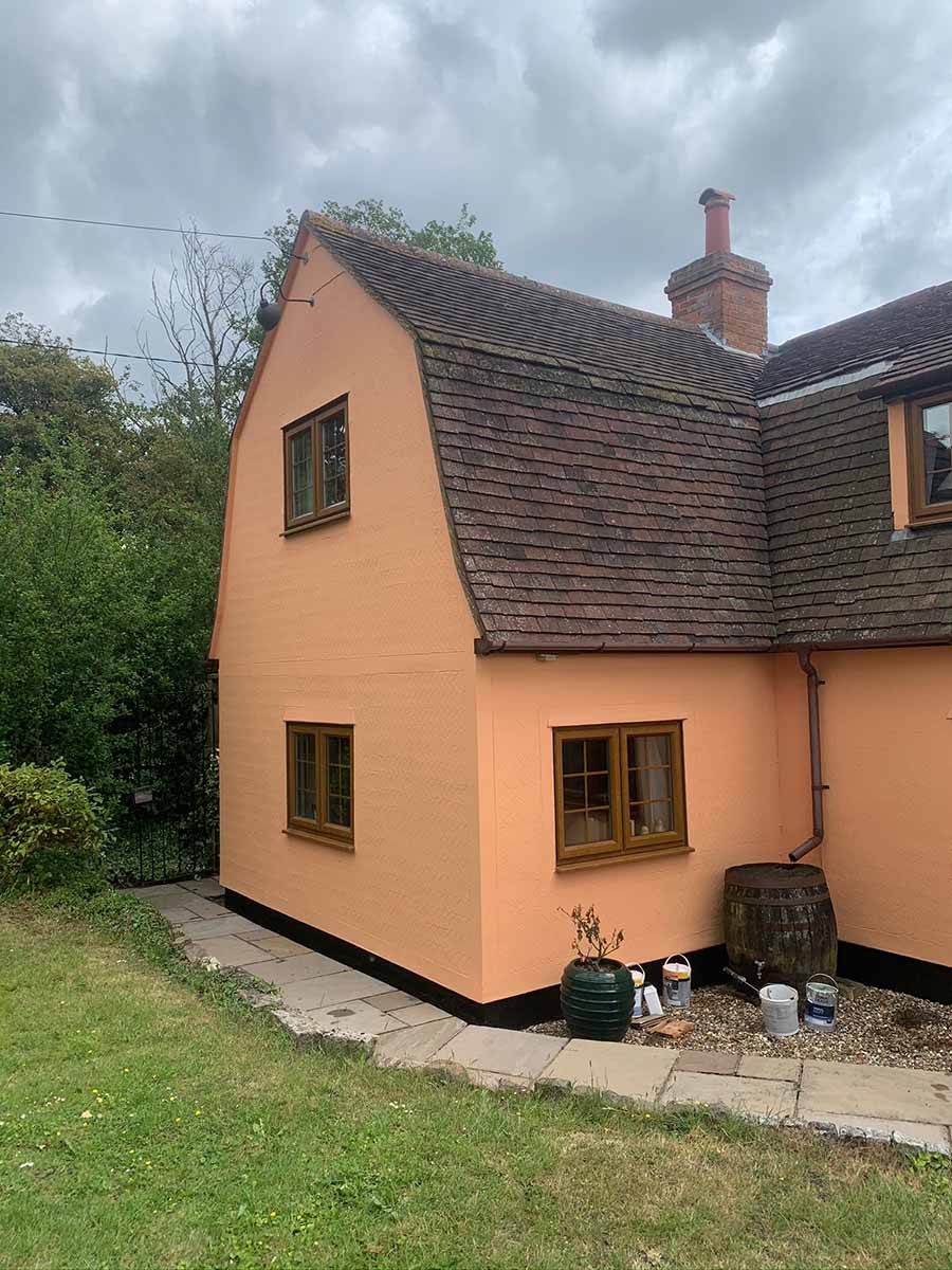 exterior cottage painting